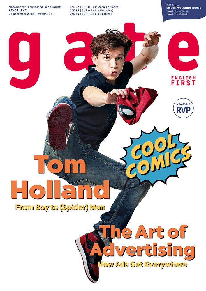 Listopadové číslo časopisu Gate