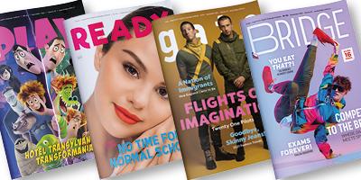 Zářijové časopisy online